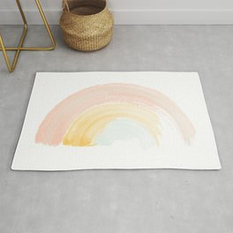 Choose Joy Rainbow Rug