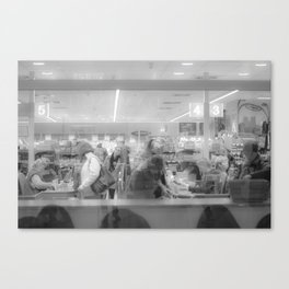 Supermarket Canvas Print