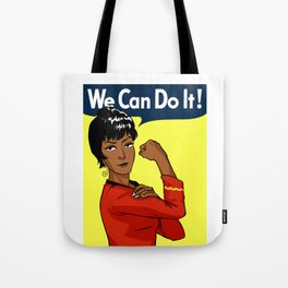 UHURA: WE CAN DO IT! Tote Bag