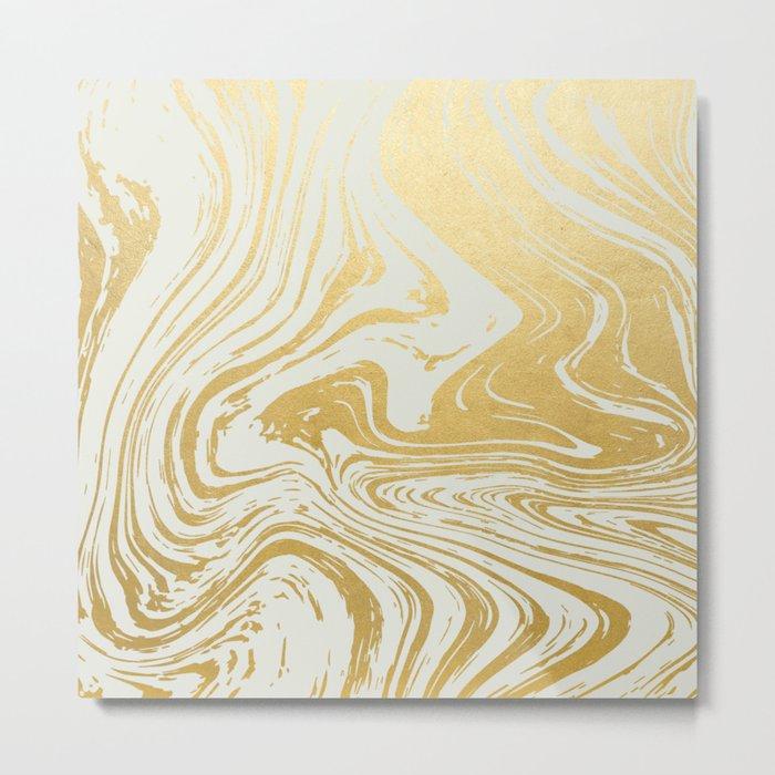 Gold Rush #society6 #decor #buyart Metal Print