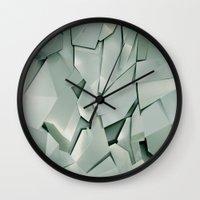 metal Wall Clocks featuring METAL by peocle