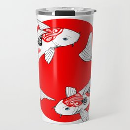 Japanese Kois Travel Mug