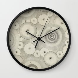 Mystic Eyes Wall Clock