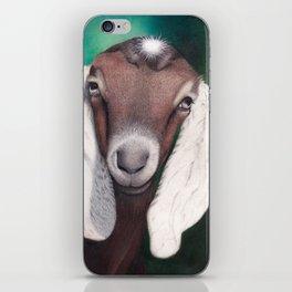 Waylon, a Young Goat iPhone Skin