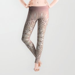 Rose Mandala Leggings