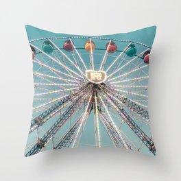 Ferris Wheel 7 Throw Pillow