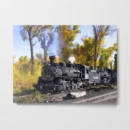 Cumbres and Toltec Railroad Metal Print
