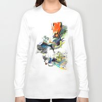 archan nair Long Sleeve T-shirts featuring Sunburn by Archan Nair
