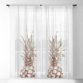pineapple Sheer Curtain