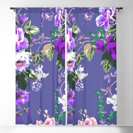 Bouquets with roses 3 Blackout Curtain