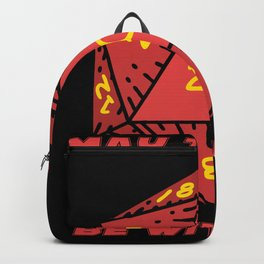 May the dice be with you Backpack