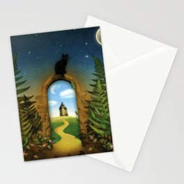 Moon Fairytale VI Stationery Cards