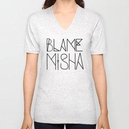 Blame Misha Unisex V-Neck