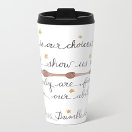 Choices Dumbledore J.K. Rowling Quote Travel Mug