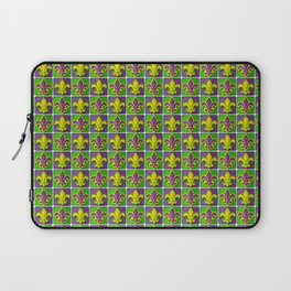 Mardi Gras  pattern Laptop Sleeve