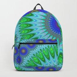 Happy star mandala Backpack