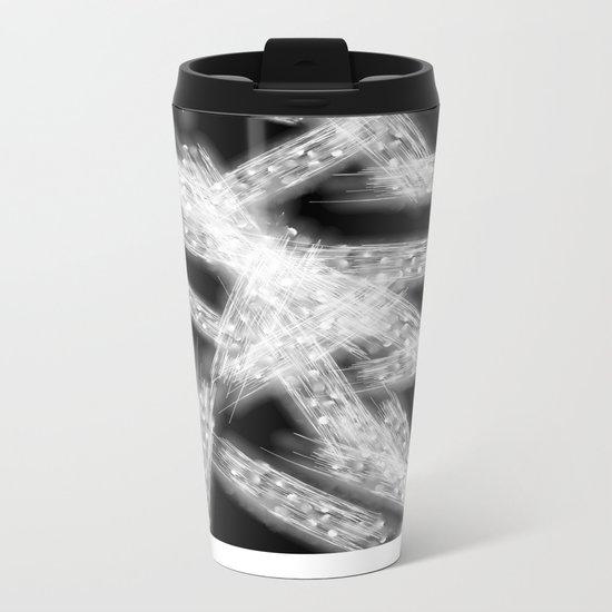 Abstract Xray 2 Metal Travel Mug