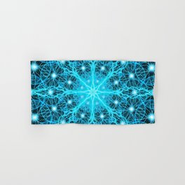Electric Universe Mandala Hand & Bath Towel