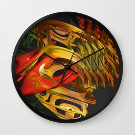 Tonsillitis4 Wall Clock