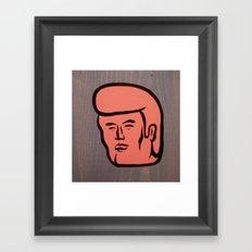 pretty boy 02 Framed Art Print