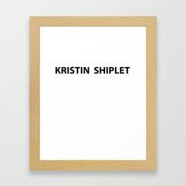 Kristin Shiplet Framed Art Print