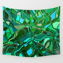Abstract #8 - V - Jungle Book Wall Tapestry