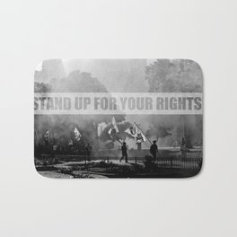 Stand up for your rights! Bath Mat