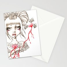 Honey Blood Stationery Cards