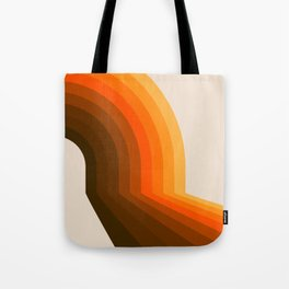 Golden Halfbow Tote Bag
