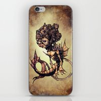 seahorse iPhone & iPod Skins featuring SEAHORSE by Tim Shumate