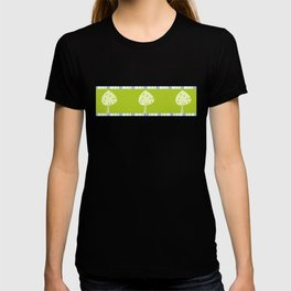 candy trees on green T-shirt