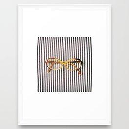 {Tes Lunettes~IV} Framed Art Print