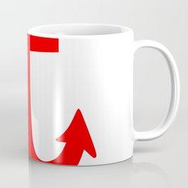Anchor (Red & White) Coffee Mug
