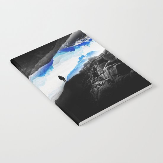 Vision of the frosty mountains Notebook