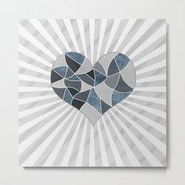 Heart . Patchwork .2 Metal Print