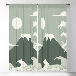 Cat Landscape 108 Blackout Curtain
