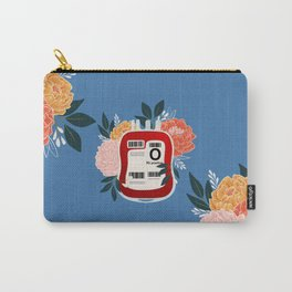 Floral O Positive Carry-All Pouch