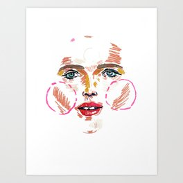 Dree Art Print