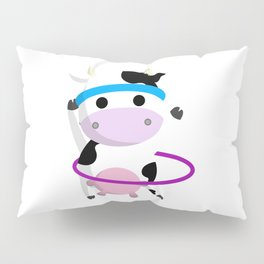 TeeTee - The Aerobic Cow #01 Pillow Sham