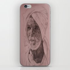 Egyptian Old Man iPhone Skin