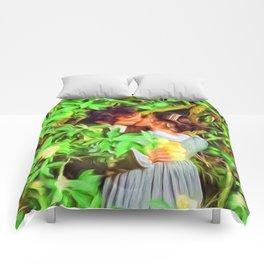 Love in bloom. Comforters