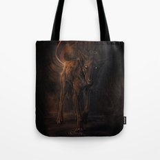 Black Beast Tote Bag
