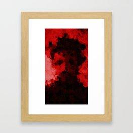 SELFIE DANGER Framed Art Print