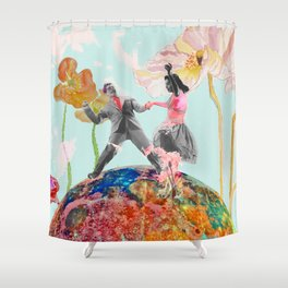 Made in hollywood Shower Curtain