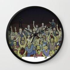 Zombies!!! Wall Clock