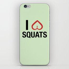 Squat Love iPhone Skin