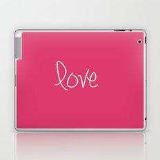Love In Pink  Laptop & iPad Skin