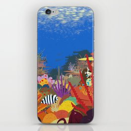 The Coral Reef That Once Was... iPhone Skin