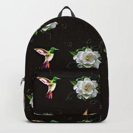 Hummingbirds and Gardenias Backpack