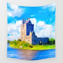 Dunguaire Castle On Galway Bay In Ireland Wall Tapestry
